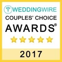 Eivan's Photo Inc. awarded Couples Choice award from WeddingWire 2017