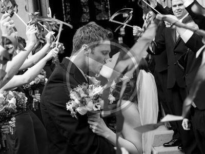 A frame taken from couples wedding videography