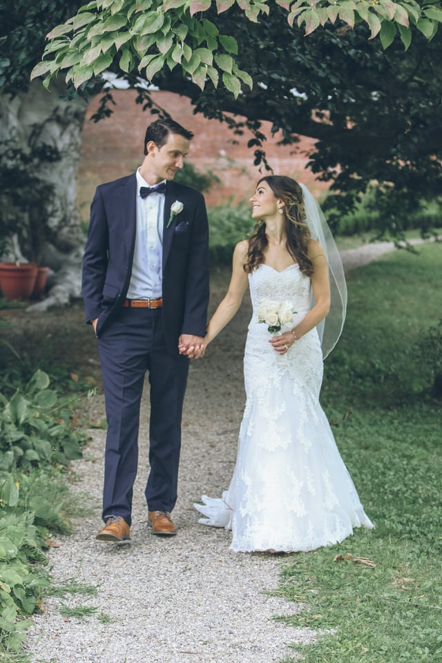 newlyweds taking a stroll, boston wedding photographer portfolio