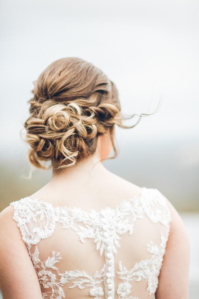 newlywed bride hair, sacramento wedding photographer availability