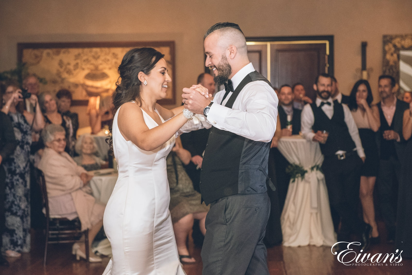 married man and woman dancing