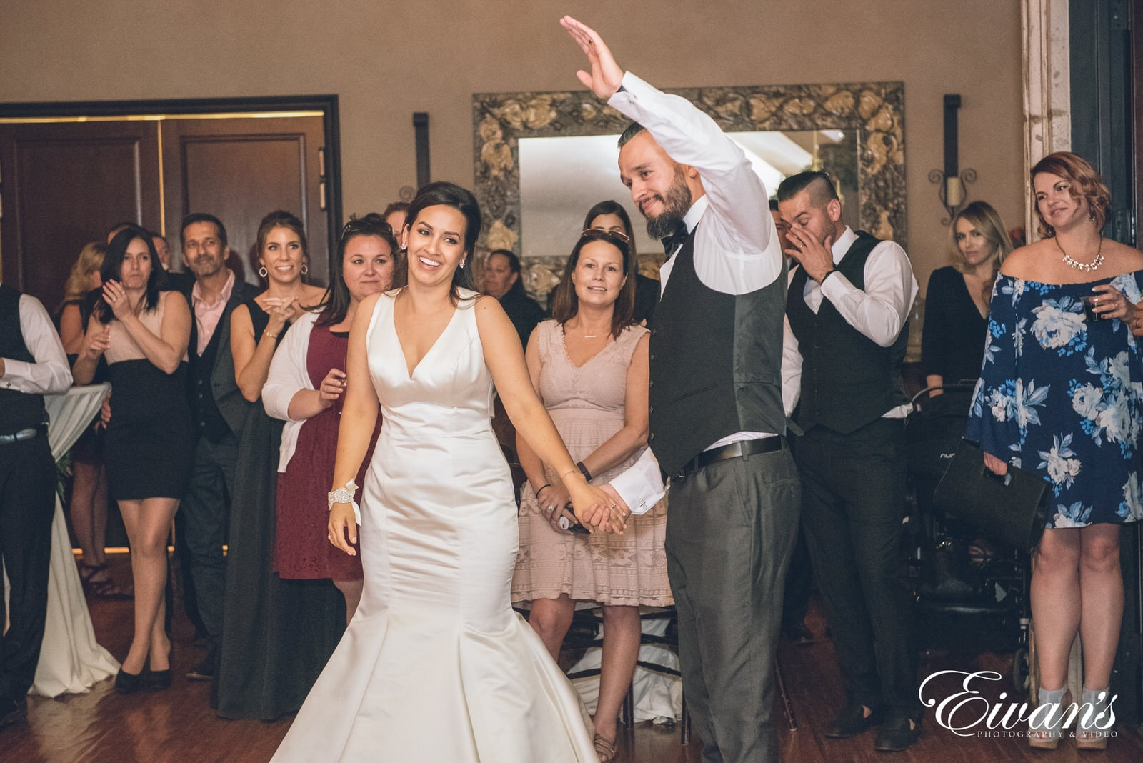 married man and woman on the dance floor