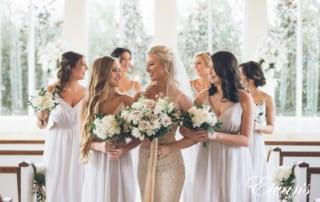 trendy winter wedding colors