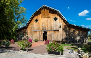 image of the outside of the barn
