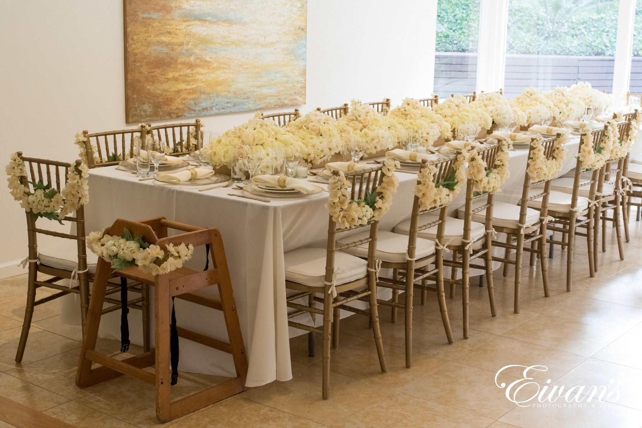 image of a wedding table setting