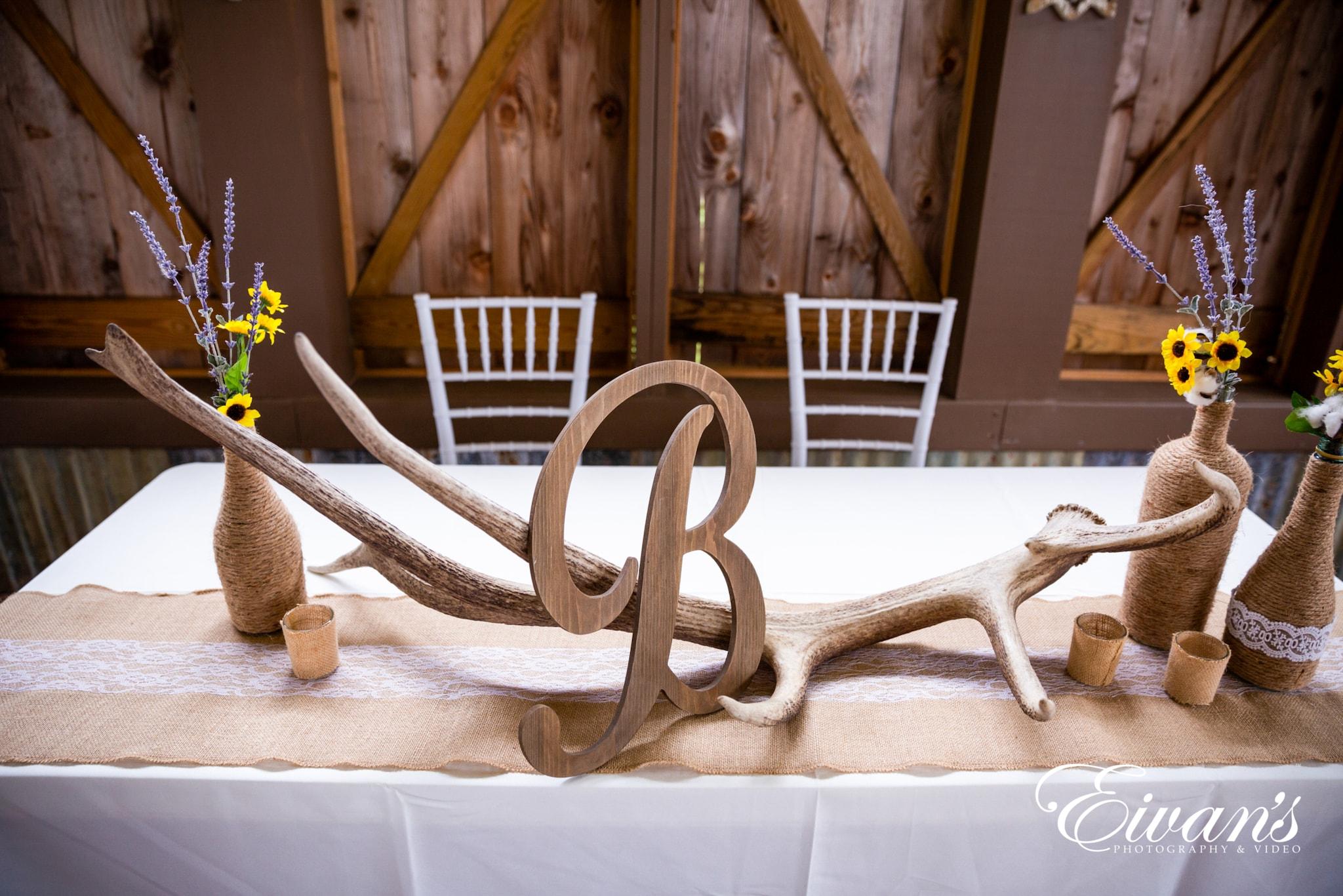 image of wedding centerpieces