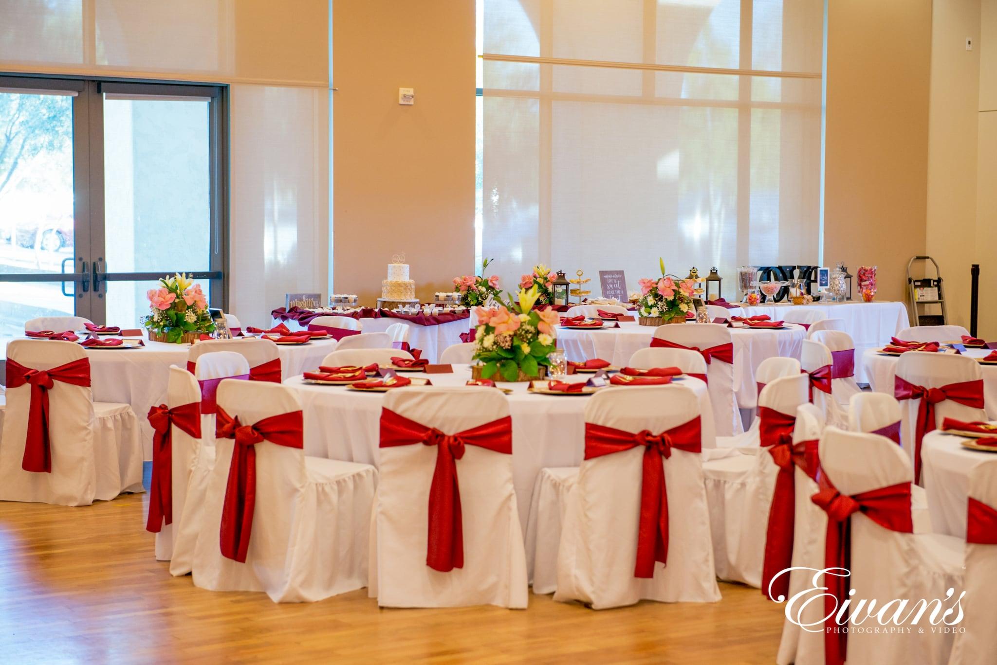 image of a reception venue