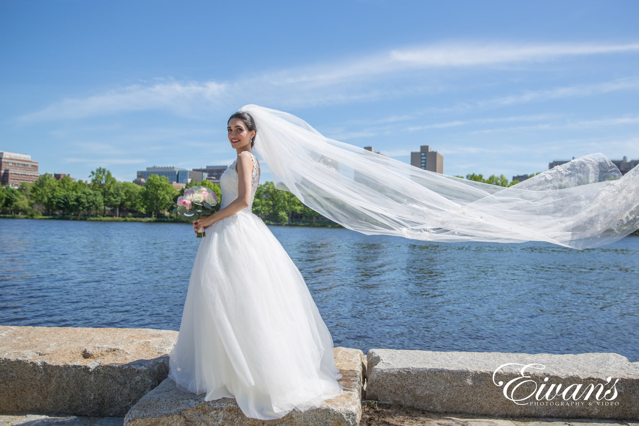 image of a woman in a wedding dress
