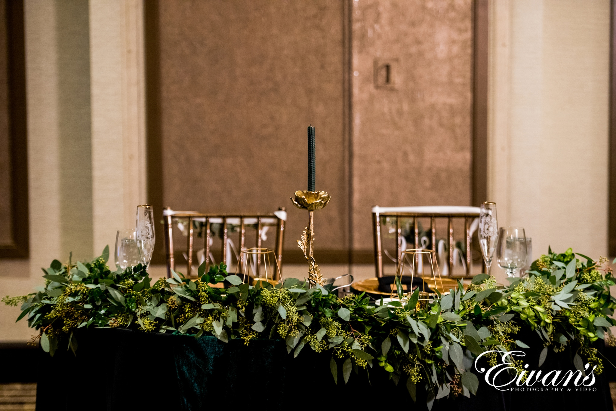 image of a bridal table