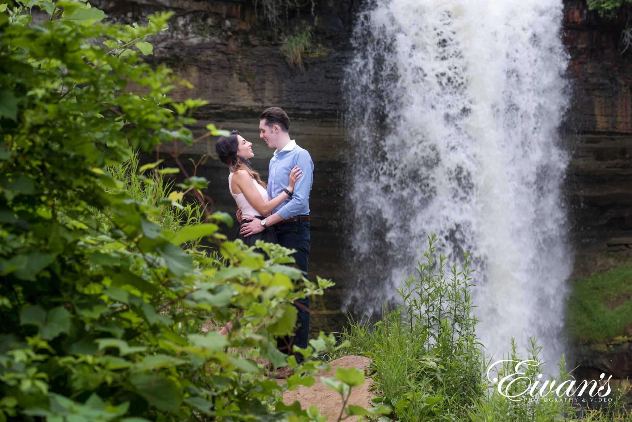 image of an engaged couple